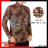 Harga Gudang Fashion Batik Pria Kombinasi Lengan Panjang Kombinasi Warna Murah