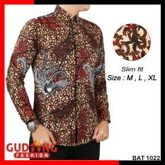 Harga Gudang Fashion Batik Pria Kombinasi Lengan Panjang Kombinasi Warna Fullset Murah