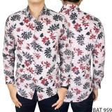Jual Gudang Fashion Batik Slimfit Panjang Pria Krem