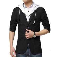 Gudang Fashion - Blazer Pria Korea - Hitam