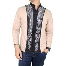 Tips Beli Gudang Fashion Busana Pria Muslim Lengan Panjang Krem