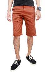 Spesifikasi Gudang Fashion Celana Chino Pendek Pria Coklat Merk Gudang Fashion