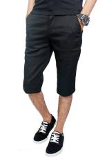 Beli Gudang Fashion Celana Chino Pendek Pria Hitam Gudang Fashion
