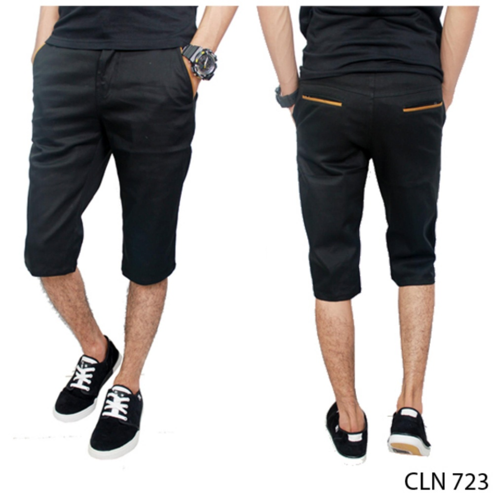 Gudang Fashion Dompet Pria Casual Hitam Beli Harga Murah Jas Semi Formal Stretch Grey Blz 723 Celana Chino Pendek