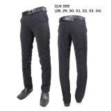 Spesifikasi Gudang Fashion Celana Formal Pria Celana Kerja Hitam Dan Harganya