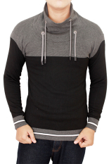 Ulasan Gudang Fashion Harajuku Sweaters Black Grey