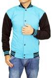 Jual Gudang Fashion Jaket Baseball Fleece Biru Online