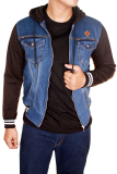 Jual Gudang Fashion Jaket Casual Jeans Biru Tua Indonesia