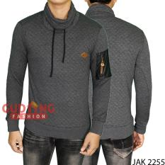 Gudang Fashion - Jaket Distro Outdoor - Abu Tua