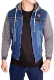 Spesifikasi Gudang Fashion Jaket Jean Pria Biru Tua Merk Gudang Fashion