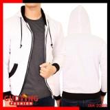 Promo Gudang Fashion Jaket Polos Pria Fleece Putih