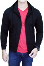 Spesifikasi Gudang Fashion Jaket Polos Pria Hitam Dan Harga