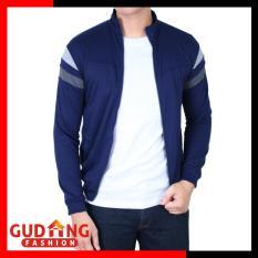 Daftar Harga Gudang Fashion Jaket Sport Training Pria Biru Tua Gudang Fashion