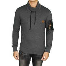 Spek Gudang Fashion Jaket Sweater Distro Abu Tua Gudang Fashion