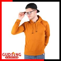 Gudang Fashion - Jaket Sweater Distro - Orange