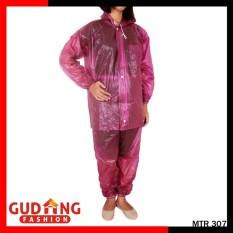 Gudang Fashion - Jas Hujan Perempuan - Maroon
