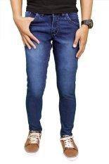 Spesifikasi Gudang Fashion Jeans Panjang Pria Navy Terbaik