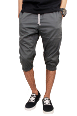 Gudang Fashion - Jogger Shorts For Men - Abu Tua