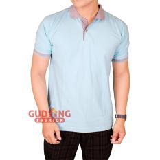 Gudang Fashion - Kaos Pendek Berkerah Pria - Banyak Warna