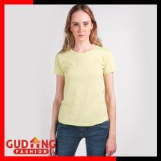 Gudang Fashion - Kaos Pendek Polos Atasan Wanita - Aneka Warna