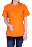 Review Gudang Fashion Kaos Polo Wanita Merah Fanta Orange Gudang Fashion Di Banten