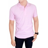 Jual Gudang Fashion Kaos Polos Kerah 100 Cotton Pique Pink Original