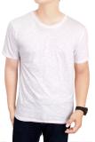 Beli Gudang Fashion Kaos Polos Pendek Cotton Combed S20 Slub Putih Cicil