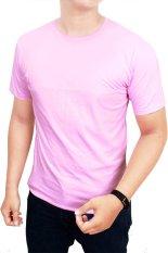 Harga Gudang Fashion Kaos Polos Pendek Pria O Neck Merah Muda Gudang Fashion Asli