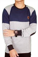 Jual Gudang Fashion Kaos Tangan Panjang Trendy Abu Gudang Fashion Grosir