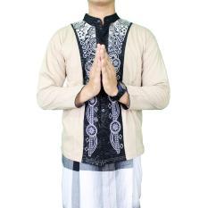 Gudang Fashion - Kemeja Koko Muslim - Krem