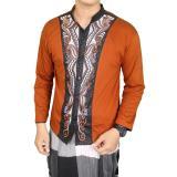 Jual Gudang Fashion Kemeja Muslim Pria Coklat Original