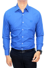 Review Toko Gudang Fashion Kemeja Pria Formal Biru Muda