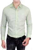 Tips Beli Gudang Fashion Long Sleeved Formal Shirts Hijau Muda Yang Bagus