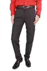 Kualitas Gudang Fashion Male Slim Fit Suit Trousers Abu Tua Gudang Fashion