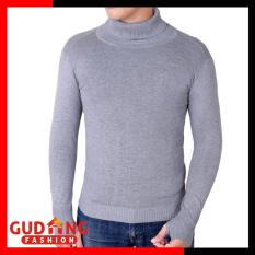 Toko Gudang Fashion Male Sweater Designs Abu Muda Termurah