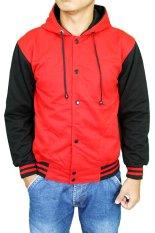 Toko Gudang Fashion Men S Outerwear Jackets Baseball Merah Gudang Fashion