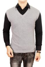 Gudang Fashion - Mens Vest Outfits - Abu Muda