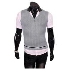 Gudang Fashion - Rompi Casual Pria - Abu