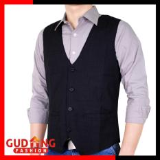 Gudang Fashion - Rompi Formal Pria - Hitam 7170a34d53