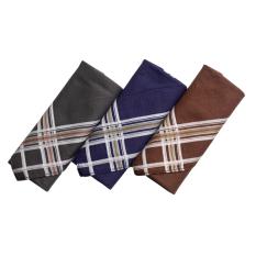 Gudang Fashion - Sapu Tangan Katun Isi 3Pcs - Multi Color