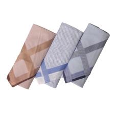 Gudang Fashion - Sapu Tangan Laki-Laki Isi 3Pcs - Multi Color