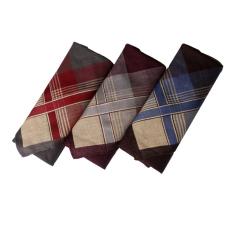 Gudang Fashion - Sapu Tangan Lelaki Isi 3Pcs - Multi Color