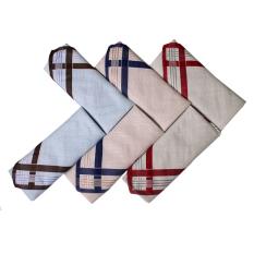Gudang Fashion - Sapu Tangan Pria Isi 6Pcs - Multi Color