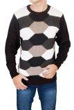 Beli Gudang Fashion Sweater Casual Pria Hitam