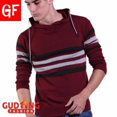 Ulasan Mengenai Gudang Fashion Sweater Casual Pria Merah