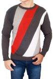 Katalog Gudang Fashion Sweater Cowok Abu Terbaru