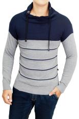 Cuci Gudang Gudang Fashion Sweater Fashion Pria Kombinasi Warna
