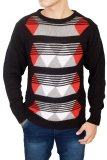 Harga Gudang Fashion Sweater For Mens Hitam Seken