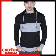 Ulasan Tentang Gudang Fashion Sweater Hoodie Distro Pria Abu Hitam