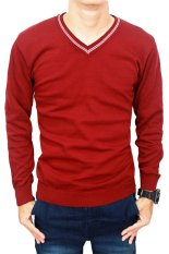 Diskon Produk Gudang Fashion Sweater Male Maroon